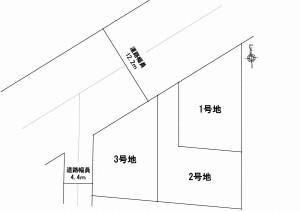 国分3丁目 3区画図